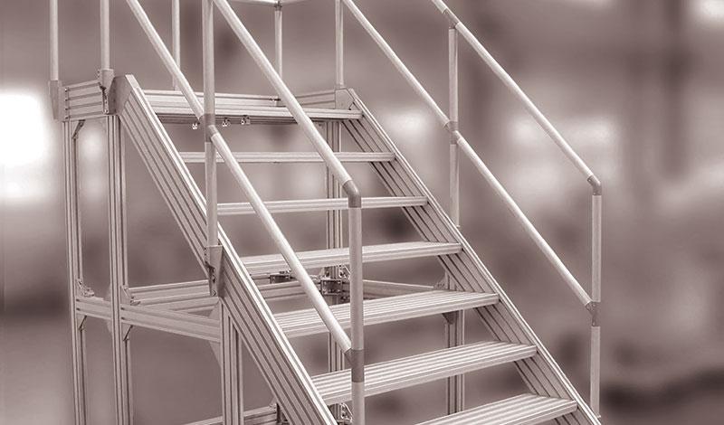 Sistema de Plataformas y Escaleras